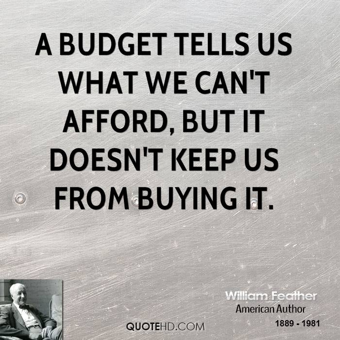 Funny Quotes About Budgets Quotesgram