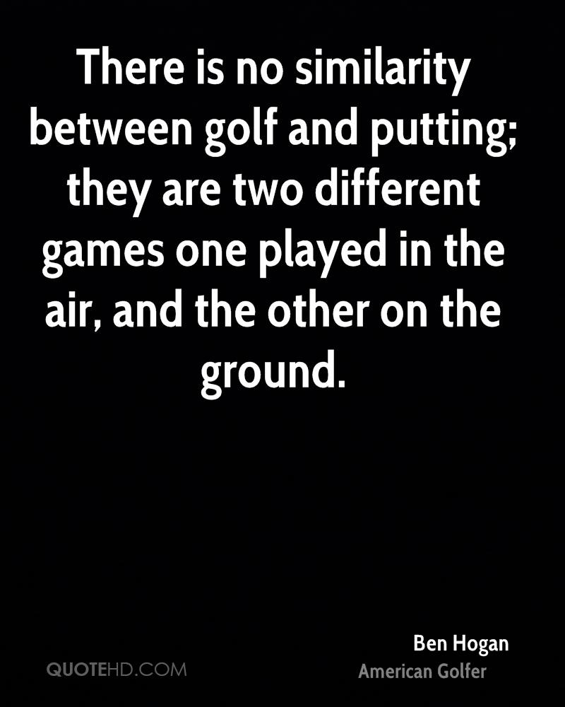 Quotes About Golf Ben Hogan Quotes  Quotehd