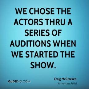 Craig McCracken - We chose the actors thru a series of auditions when we started the show.