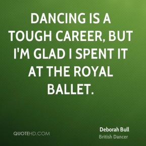 Dancing is a tough career, but I'm glad I spent it at the Royal Ballet.