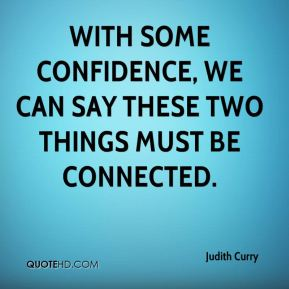 With some confidence, we can say these two things must be connected.