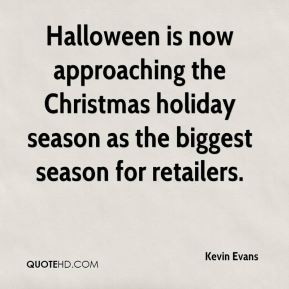 Halloween is now approaching the Christmas holiday season as the biggest season for retailers.