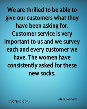 We are thrilled to be able to give our customers what they have been asking for. Customer service is very important to us and we survey each and every customer we have. The women have consistently asked for these new socks.