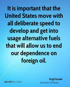 the importance of oil in the united states foreign policy Moreover, many commentators, frustrated with the tension in relations between the united states and saudi arabia, have stepped up calls for weaning the united states of foreign oil broadly and of middle eastern oil in particular but the debate entirely misses the logic of the american involvement.