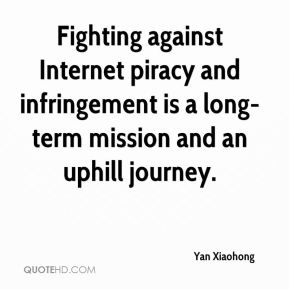 Yan Xiaohong  - Fighting against Internet piracy and infringement is a long-term mission and an uphill journey.