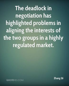 The deadlock in negotiation has highlighted problems in aligning the interests of the two groups in a highly regulated market.