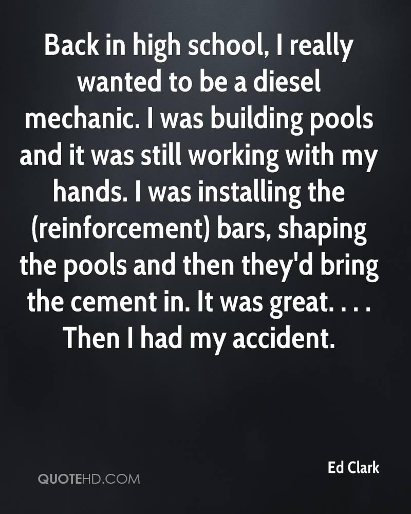 Mechanic Quotes Ed Clark Quotes  Quotehd