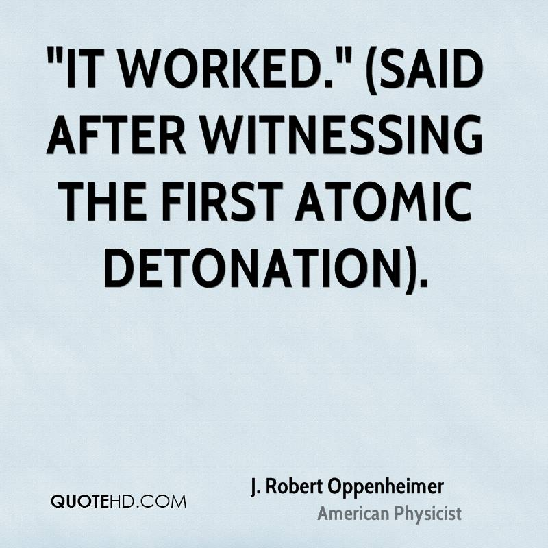 J Robert Oppenheimer Quotes QuoteHD Simple Oppenheimer Quote