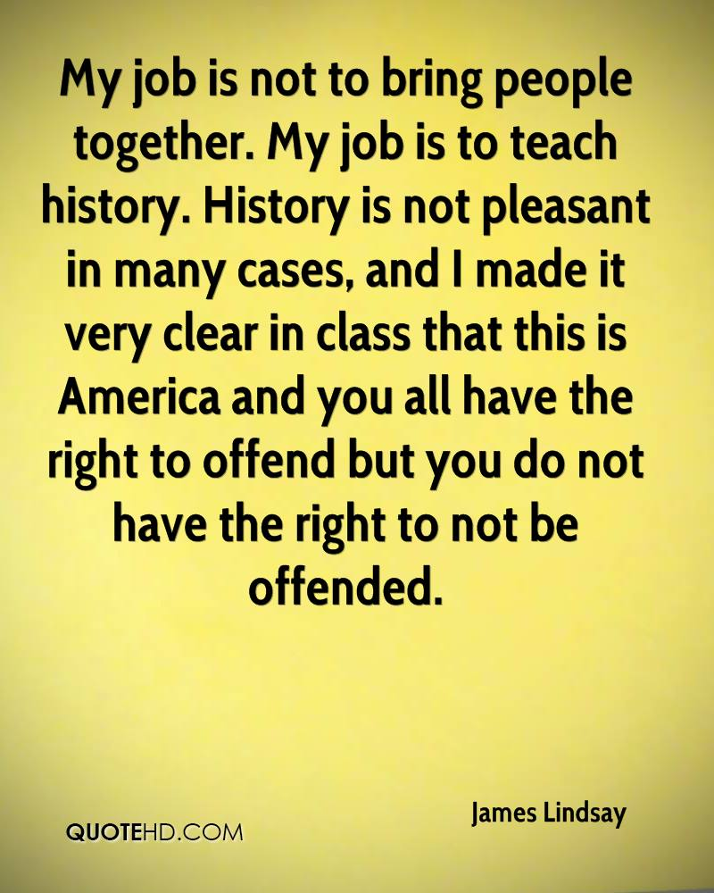 right to offend quote
