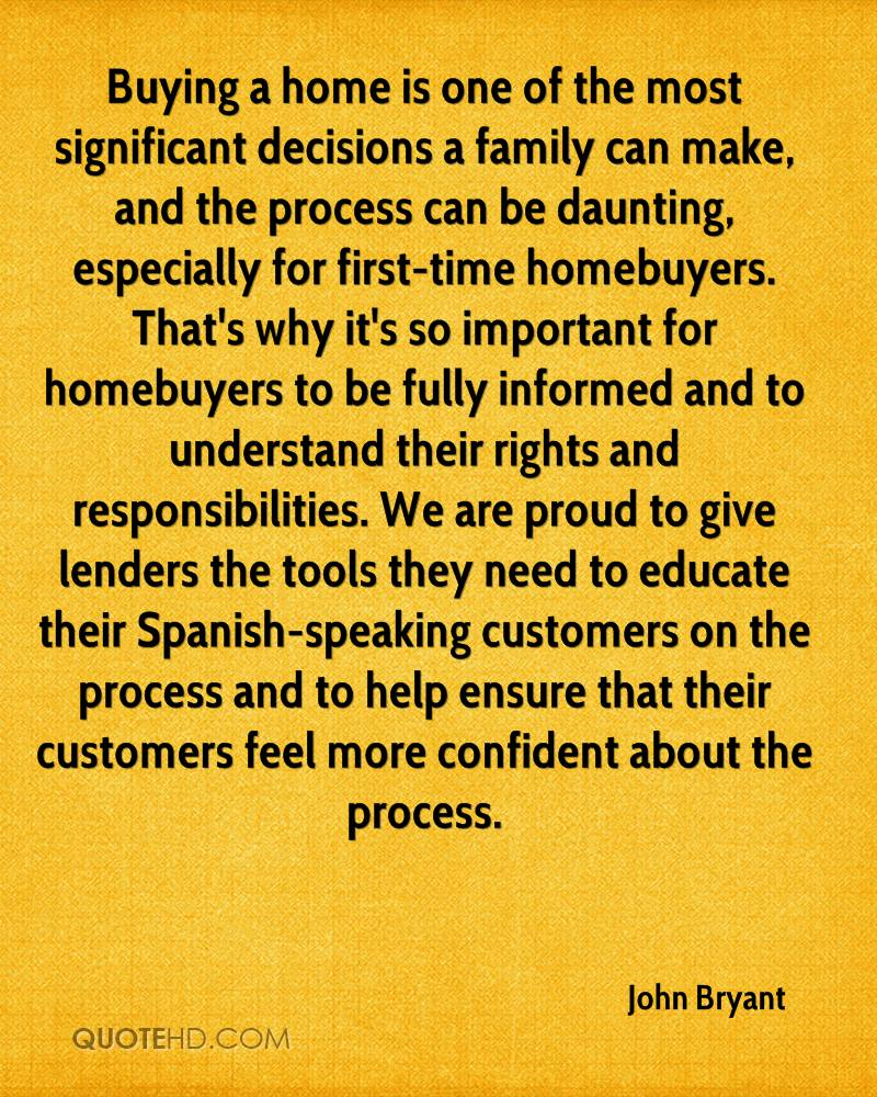 Buying a home is one of the most significant decisions a family can make, and the process can be daunting, especially for first-time homebuyers. That's why it's so important for homebuyers to be fully informed and to understand their rights and responsibilities. We are proud to give lenders the tools they need to educate their Spanish-speaking customers on the process and to help ensure that their customers feel more confident about the process.