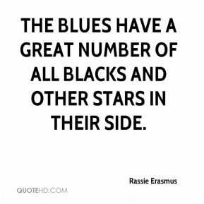 Rassie Erasmus  - The Blues have a great number of All Blacks and other stars in their side.