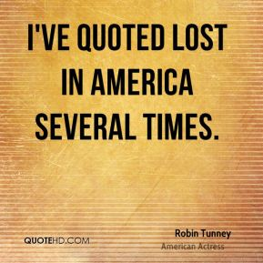 I've quoted Lost in America several times.