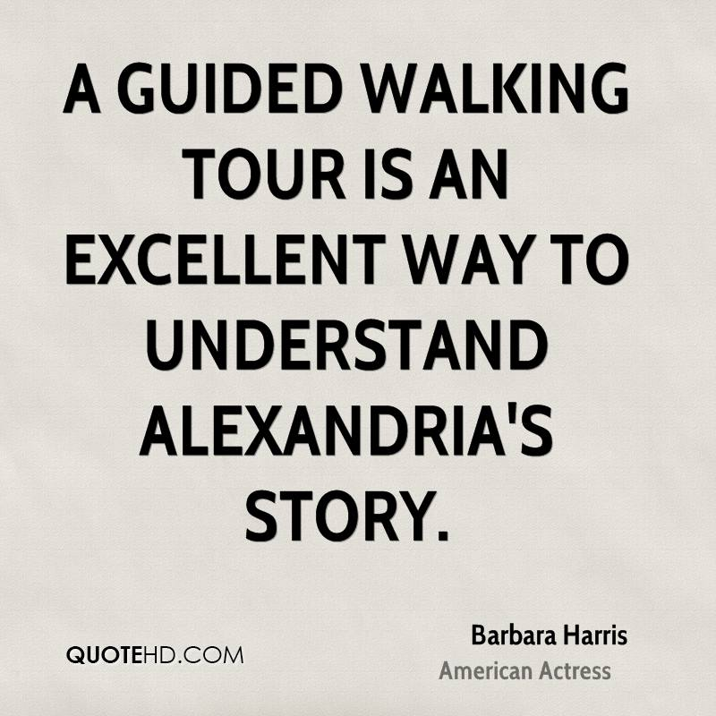 A guided walking tour is an excellent way to understand Alexandria's story.