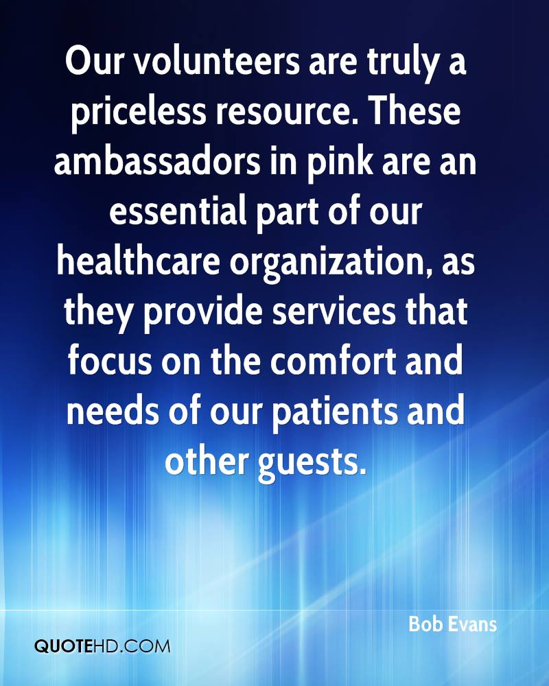 Our volunteers are truly a priceless resource. These ambassadors in pink are an essential part of our healthcare organization, as they provide services that focus on the comfort and needs of our patients and other guests.