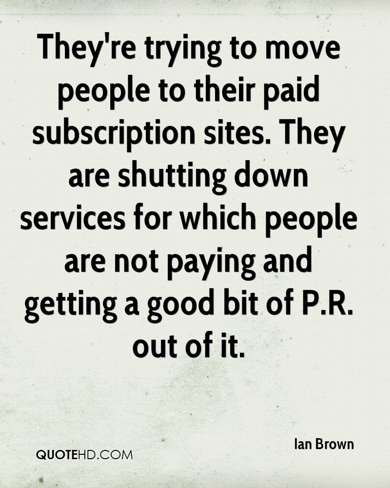 They're trying to move people to their paid subscription sites. They are shutting down services for which people are not paying and getting a good bit of P.R. out of it.