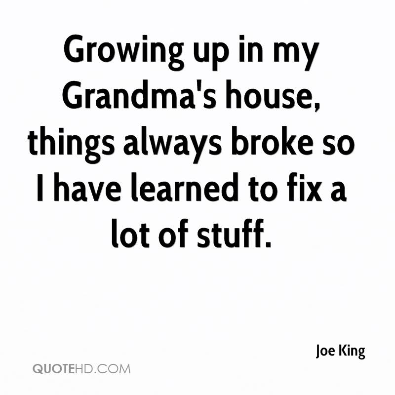 the things ive learned from my grandmothers death Everything i ever needed to know i learned in kindergarten, or from star trek,  so this morning, i want to talk about the 5 key things my grandmother taught me.