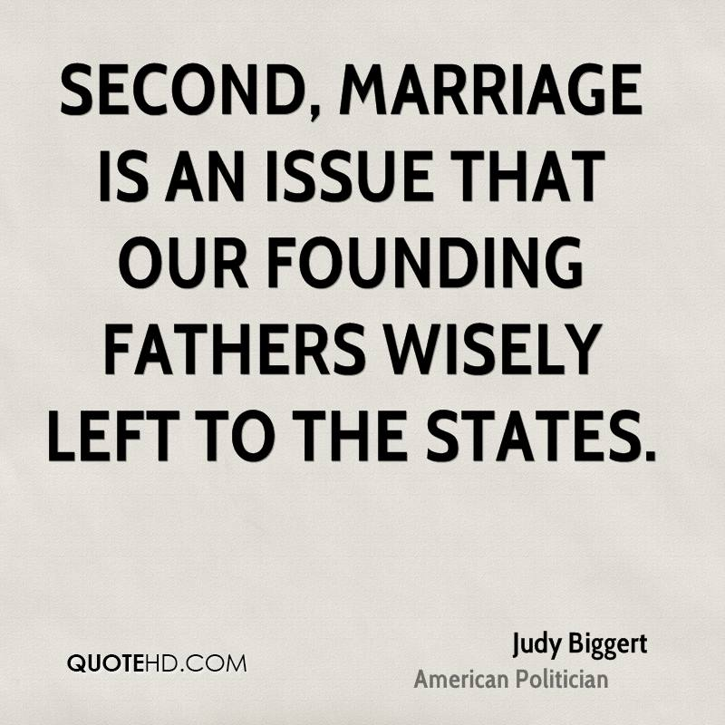 Judy Biggert Marriage Quotes | QuoteHD
