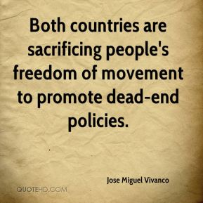Jose Miguel Vivanco  - Both countries are sacrificing people's freedom of movement to promote dead-end policies.