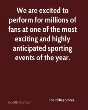 We are excited to perform for millions of fans at one of the most exciting and highly anticipated sporting events of the year.