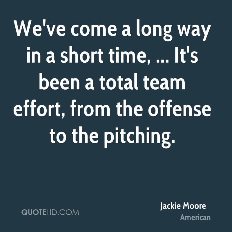 Its Been A Long Time Quotes: Jackie Moore Quotes