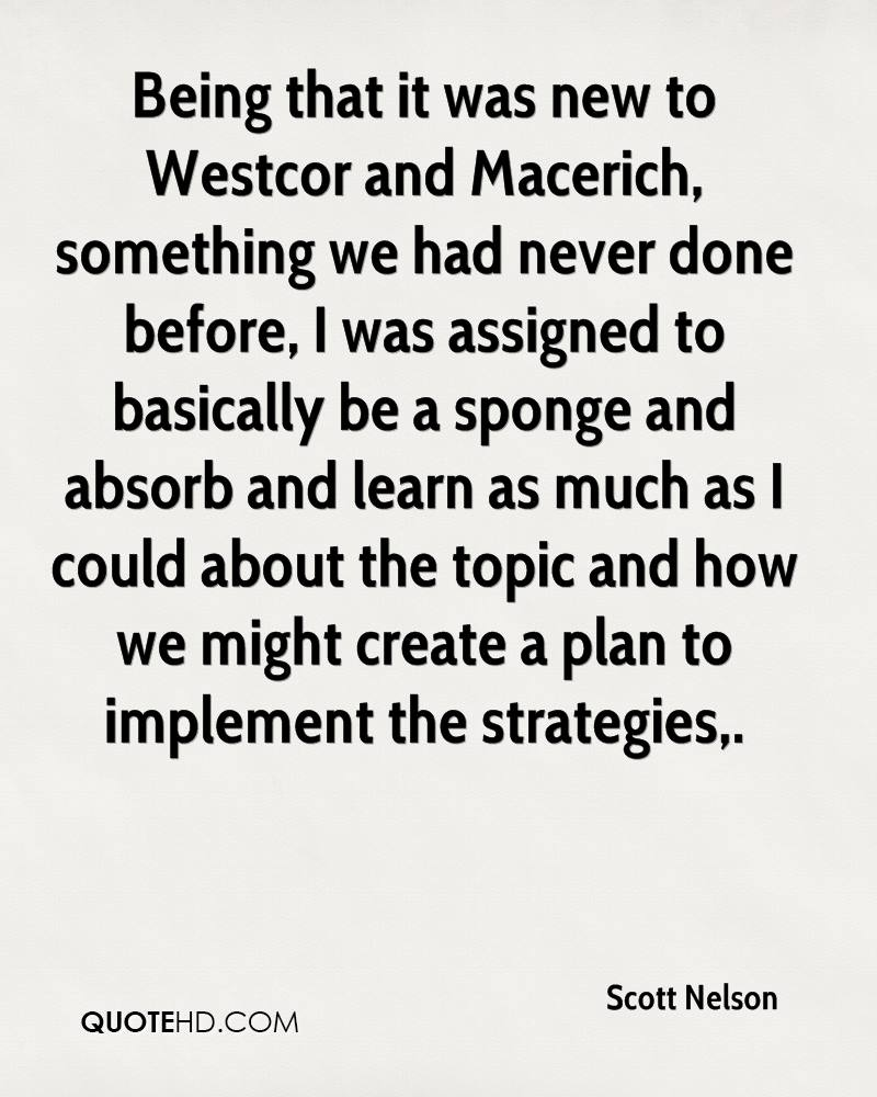 Being that it was new to Westcor and Macerich, something we had never done before, I was assigned to basically be a sponge and absorb and learn as much as I could about the topic and how we might create a plan to implement the strategies.
