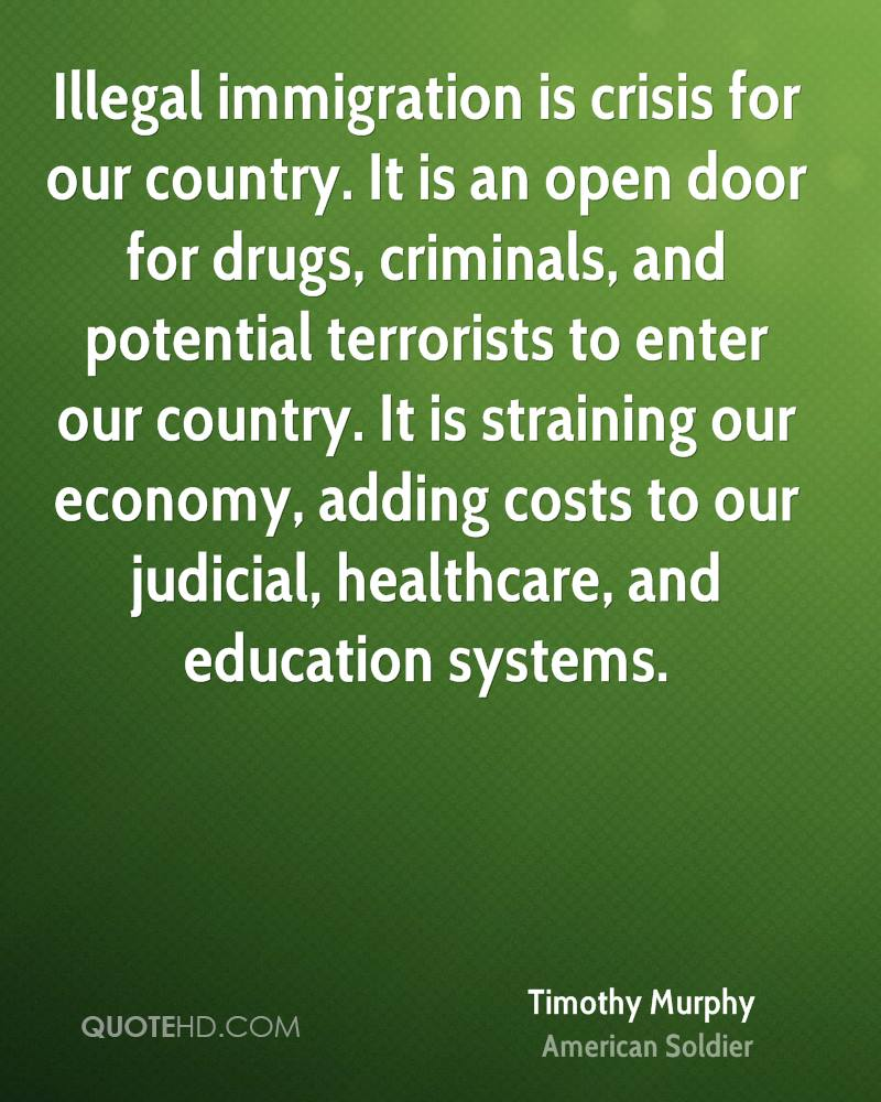 should america close its doors to immigrants Closed-door policy douglas massey june 16, 2003 pinit instapaper pocket email print the main sources of immigrants for the united states are thus its closest trading partners (mexico, canada, china), former colonies (the philippines.