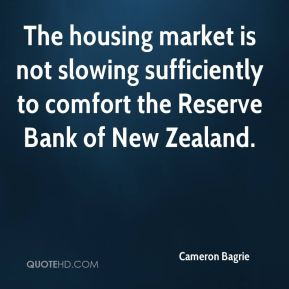 The housing market is not slowing sufficiently to comfort the Reserve Bank of New Zealand.