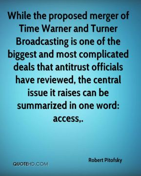 While the proposed merger of Time Warner and Turner Broadcasting is one of the biggest and most complicated deals that antitrust officials have reviewed, the central issue it raises can be summarized in one word: access.