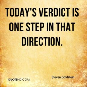 Today's verdict is one step in that direction.