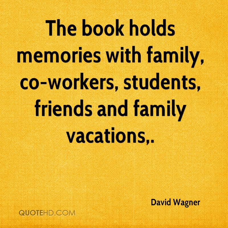 The Book Holds Memories With Family Co Workers Students Friends And
