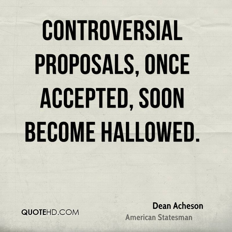 A proposal is accepted with enthusiasm 4