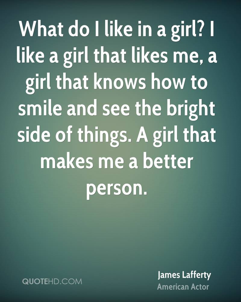 I Like A Girl Quotes
