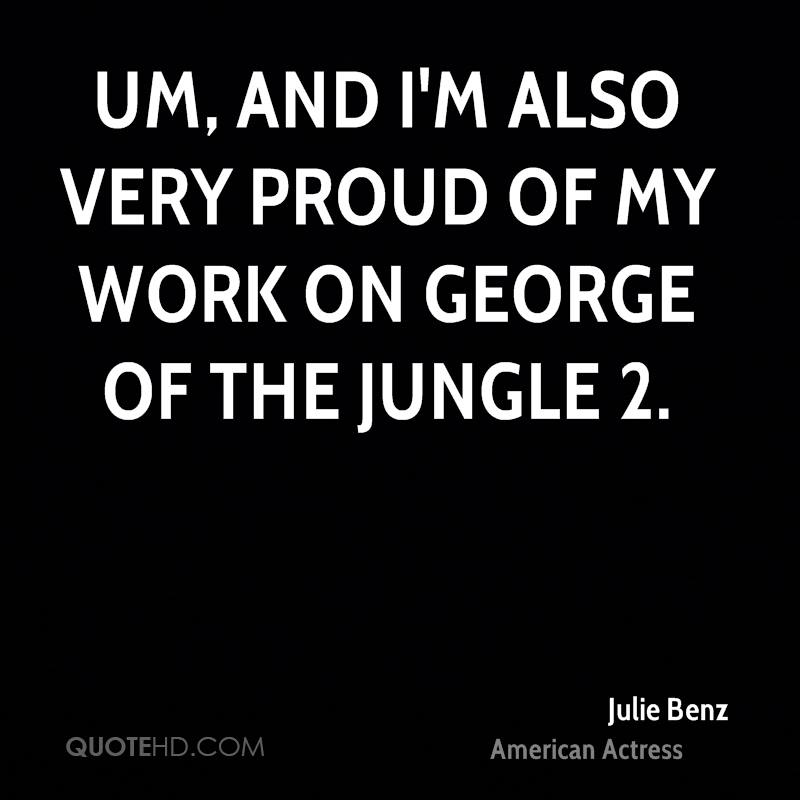 The Jungle Quotes About Working Conditions: George Of The Jungle Quotes. QuotesGram