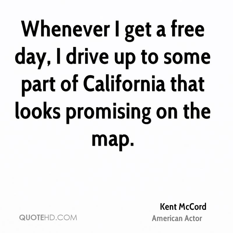 Whenever I get a free day, I drive up to some part of California that looks promising on the map.