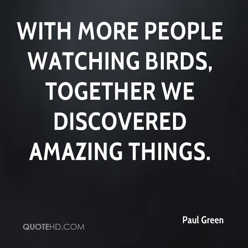 With more people watching birds, together we discovered amazing things.