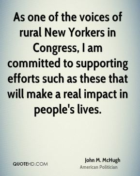 As one of the voices of rural New Yorkers in Congress, I am committed to supporting efforts such as these that will make a real impact in people's lives.