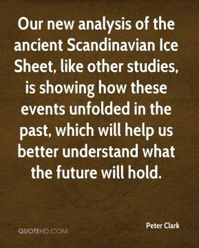 Our new analysis of the ancient Scandinavian Ice Sheet, like other studies, is showing how these events unfolded in the past, which will help us better understand what the future will hold.
