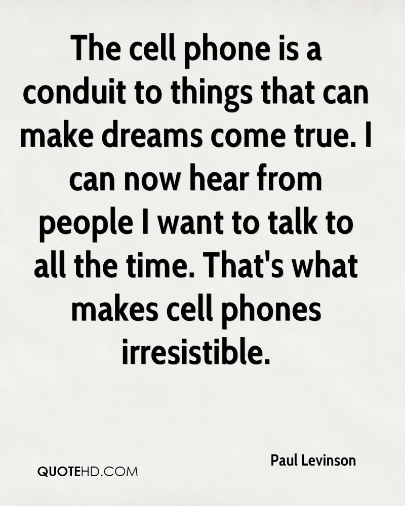 Cell Phone Quotes Paul Levinson Quotes  Quotehd