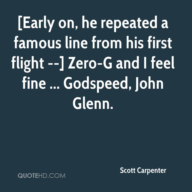 Scott Carpenter Quotes | QuoteHD
