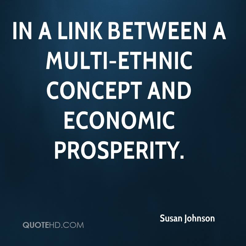 the link between economic prosperity and Economics: work and prosperity show the link between economic freedom and political and individual freedom by encouraging free-enterprise capitalism and moral.