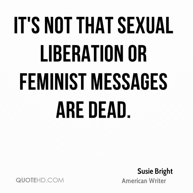 Sexually liberated quotes