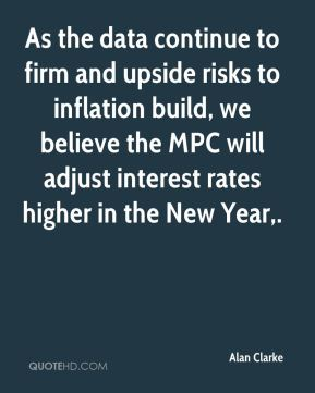 As the data continue to firm and upside risks to inflation build, we believe the MPC will adjust interest rates higher in the New Year.