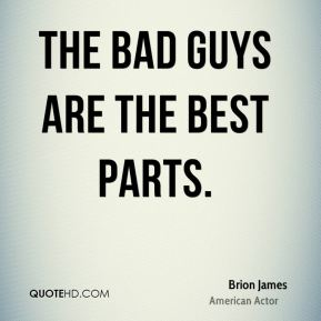 The bad guys are the best parts.