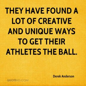 They have found a lot of creative and unique ways to get their athletes the ball.