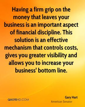 Gary Hart - Having a firm grip on the money that leaves your business is an important aspect of financial discipline. This solution is an effective mechanism that controls costs, gives you greater visibility and allows you to increase your business' bottom line.