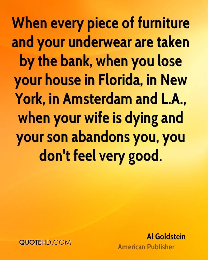 Amsterdam Quotes Al Goldstein Wife Quotes  Quotehd