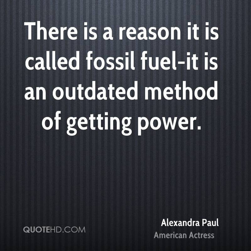 There is a reason it is called fossil fuel-it is an outdated method of getting power.