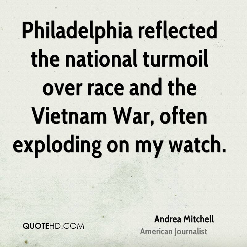 Philadelphia reflected the national turmoil over race and the Vietnam War, often exploding on my watch.