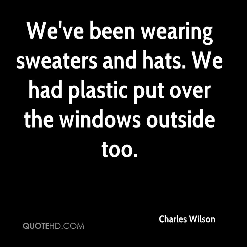 Charles Wilson Quotes Quotehd