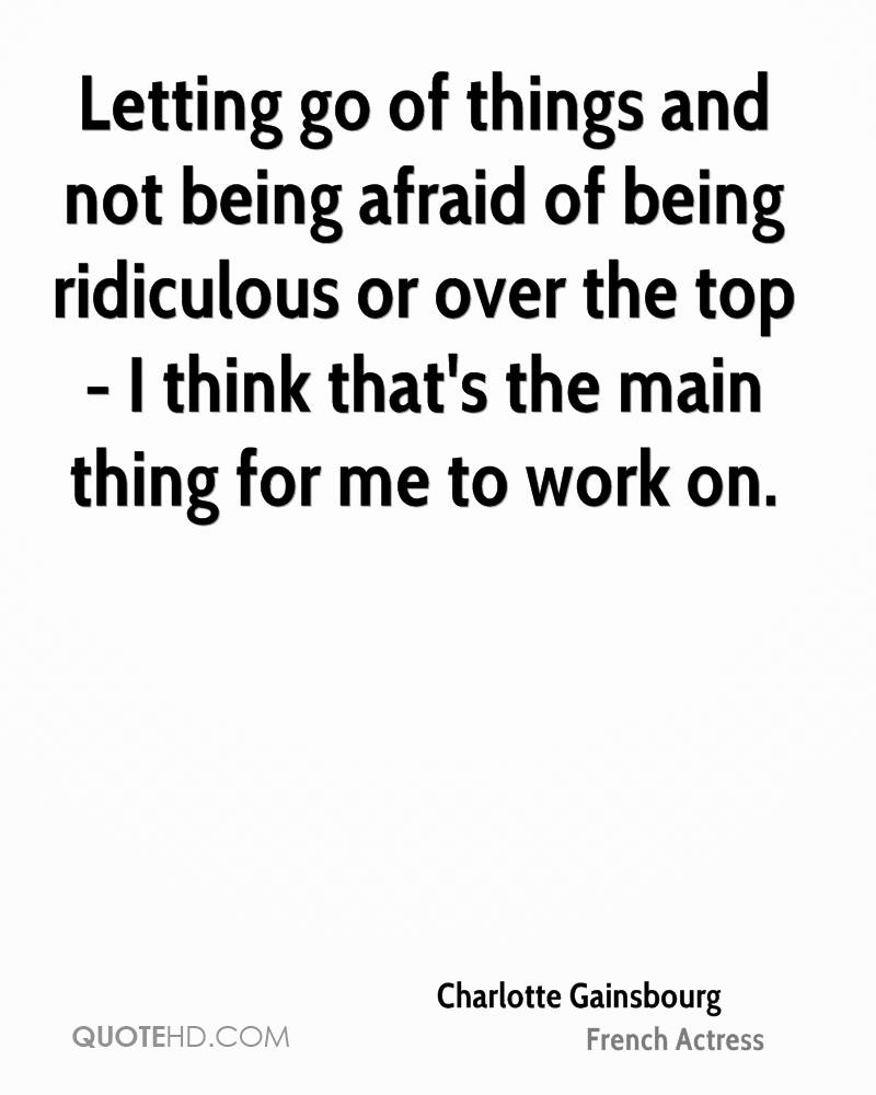Charlotte Gainsbourg Work Quotes Quotehd